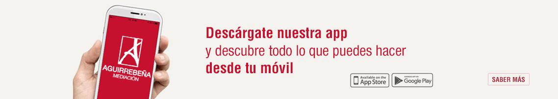 App de Seguros Aguirrebeña Mediación ahorro para la jubilación